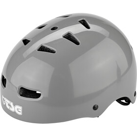 TSG Skate/BMX Injected Color Helmet Men injected grey